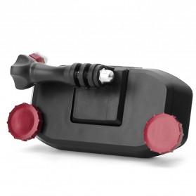 Quick Clip Backpack Mount for Gopro /  Xiaomi Yi / Xiaomi Yi 2 4K - GP298P - Black/Blue - 8