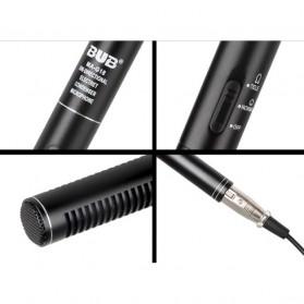 BUB DSLR Shotgun Microphone Uni-Directional - MA-G18 - Black - 4