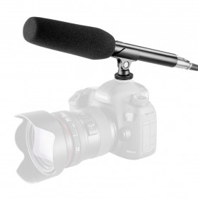 Taffware Professional DSLR Shotgun Microphone - MA-G18 - Black - 7