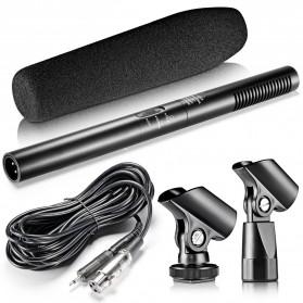 Taffware Professional DSLR Shotgun Microphone - MA-G18 - Black - 12