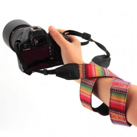 Strap Kamera Vintage - Black - 2