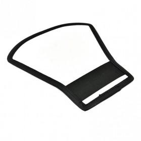 Flash Diffuser Reflector Universal untuk SLR - Black - 4