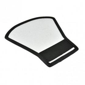 Flash Diffuser Reflector Universal untuk SLR - Black - 5