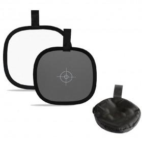 Reflector Kamera dengan White Balance Target - Black