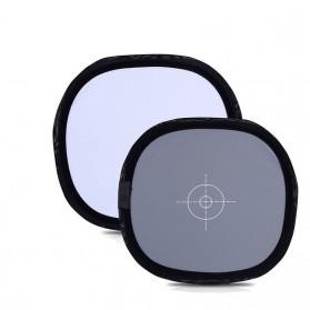 Reflector Kamera dengan White Balance Target - Black - 4