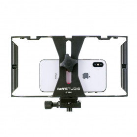 taffSTUDIOSmartphone Handheld U-Rig Stabilizer 4-7 Inch - BY-MM1 - Black/Red