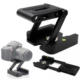 Tripod Z Flex Pan Tilt Head Flexible for DSLR Camera - Black