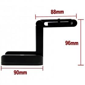 Tripod Z Flex Pan Tilt Head Flexible for DSLR Camera - Black - 3
