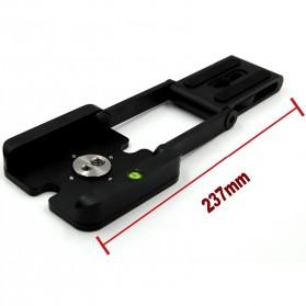 Tripod Z Flex Pan Tilt Head Flexible for DSLR Camera - Black - 4