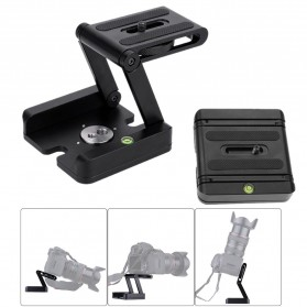 Tripod Z Flex Pan Tilt Head Flexible for DSLR Camera - Black - 5