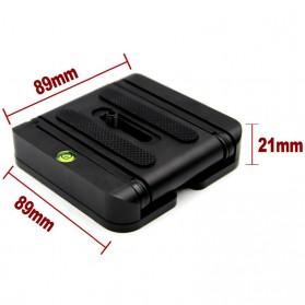 Tripod Z Flex Pan Tilt Head Flexible for DSLR Camera - Black - 6
