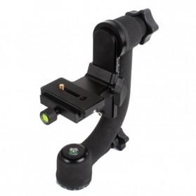 Professional Gimbal Tripod Head For Heavy Telephoto Lens - Black - 5