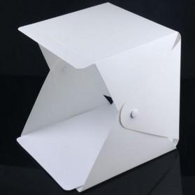 Photo Studio Mini 1 Button dengan LED dan 4 PCS Background Size M - White - 4