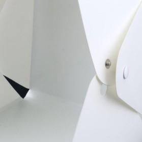 Photo Studio Mini 1 Button dengan LED dan 4 PCS Background Size M - White - 6