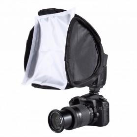 PULUZ Universal Softbox Flash Diffuser Camera DSLR - Black - 1