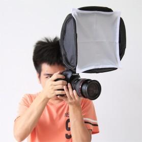 PULUZ Universal Softbox Flash Diffuser Camera DSLR - Black - 2