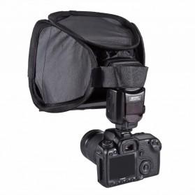 PULUZ Universal Softbox Flash Diffuser Camera DSLR - Black - 5