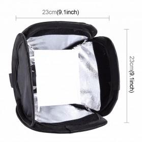 PULUZ Universal Softbox Flash Diffuser Camera DSLR - Black - 6