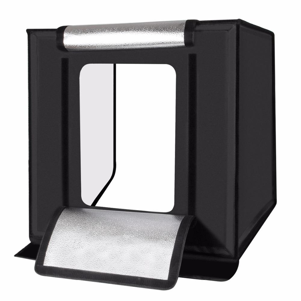 Puluz photo studio mini portable dengan led dan 3pcs - Lightbox amazon ...