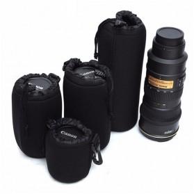 Tas Lensa Kamera DSLR 4 PCS - ZC121 - Black - 4