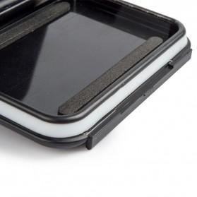 Vamson Touchscreen Waterproof Case 60m for GoPro Hero 5/6/7 - Black - 2