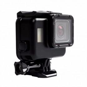 Vamson Touchscreen Waterproof Case 60m for GoPro Hero 5/6/7 - Black - 4