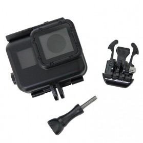 Vamson Touchscreen Waterproof Case 60m for GoPro Hero 5/6/7 - Black - 5