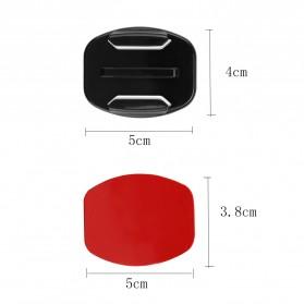 JMFOTO Sticker 3M Curved Flat Mount 8 PCS GoPro & Xiaomi Yi - 1031 - Black - 9