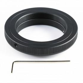 T2 T-Mount Ring Lens Adapter for Nikon D90 D300S - Black