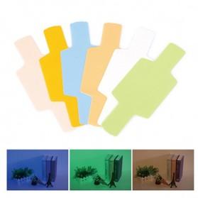 Photography Color Filter Card 20 Color for DSLR Flash - Mix Color - 4