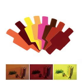 Photography Color Filter Card 20 Color for DSLR Flash - Mix Color - 5