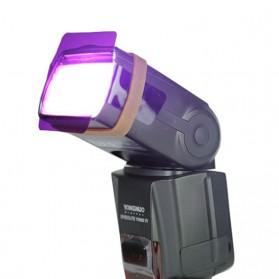 Photography Color Filter Card 20 Color for DSLR Flash - Mix Color - 8