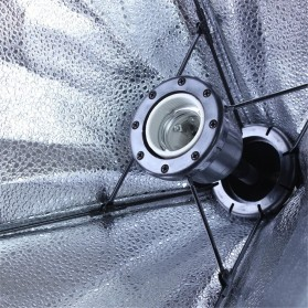 TaffSTUDIO Payung Softbox Reflektor 50x70cm E27 Single Lamp Socket - CL-RT50 - Black - 6
