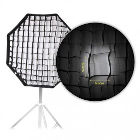 Octagonal Honeycomb Grid 80cm for Umbrella Softbox Reflector - BK-80 - Black