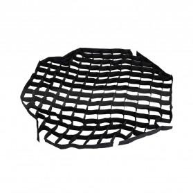 Octagonal Honeycomb Grid 80cm for Umbrella Softbox Reflector - BK-80 - Black - 2