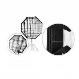 Octagonal Honeycomb Grid 80cm for Umbrella Softbox Reflector - BK-80 - Black - 3