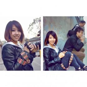 Strap Kamera DSLR Vintage Model 2 - Q8Q24 - Black - 3