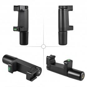 Smartphone Hand Grip Holder - Black - 7
