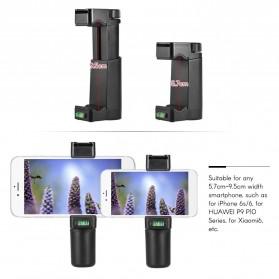Smartphone Hand Grip Holder - Black - 8