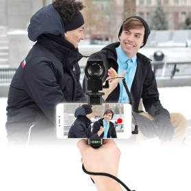 Smartphone Hand Grip Holder - Black - 9