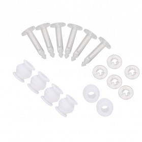 Aksesoris Kamera Lainnya - Anti Vibration Drop Pin Rubber Ball for DJI Phantom 3 Gimbal 6PCS - DJI-JZ01 - White