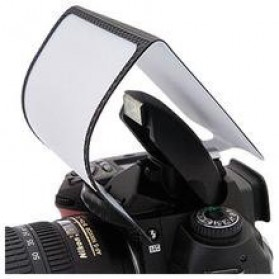 Universal Softscreen Pop-up Flash Diffuser Camera DSLR
