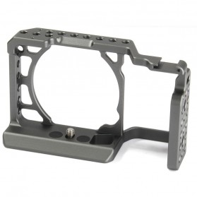 WARAXE A6 Cage Kit for Sony ILCE 6000/6300/6500 Camera - Black - 1