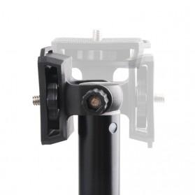 LetsPro Tongsis Monopod Tripod + Bluetooth Shutter - YK-3688 - Black - 10
