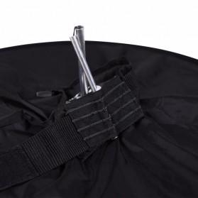 Ikacha Collapsible Ring Softbox Flash Diffuser 42cm for Speedlite Camera DSLR - EN4699 - Black - 7