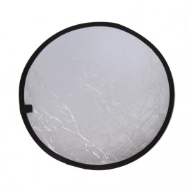Round Reflektor Cahaya Studio Foto 2 in 1 Gold Silver - YE-R110 - Silver/Gold - 2