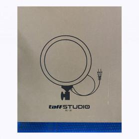 TaffSTUDIO Lampu Halo Ring Light LED Kamera DSLR Smartphone 65W 336 LED 12 Inch - RL480 - White - 13