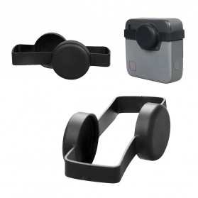 Action Camera Silicone Case + Lens Cover for GoPro Fusion - Black - 5