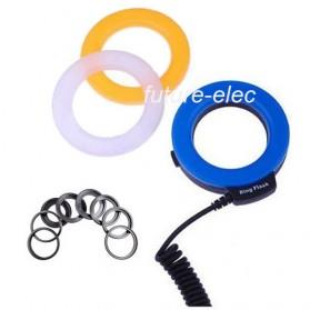 Lightdow Macro LED Ring Flash Light Kamera DSLR Canon Nikon Sony - LD-48 - Black - 4