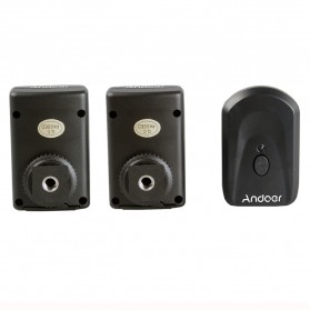 Andoer Remote Wireless Flash Trigger dengan Transmitter & Receiver - PT-04GY - Black - 3